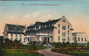 St. Luke's Hospital, Spokane, Washington, 1900-1910s