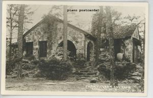 LOOKOUT MOUNTAIN, TENNESSEE CHANTICLEER COTTAGE RPPC REAL PHOTO POSTCARD
