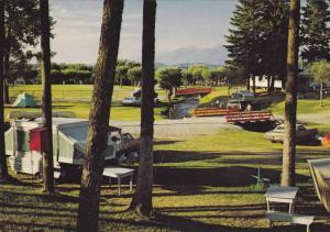 Camping , Municipal Tourist Park, Cranbrook, B.C.,  Canada,  40-60s