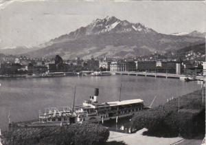 Switzerland Luzern und Pilatus 1952 Photo