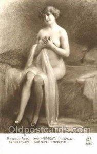 Artist Henry Perrault Nude Unused