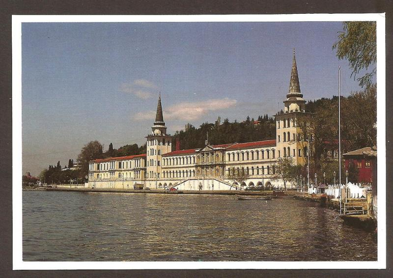 TURKEY LARGE POSTCARD UNUSED ISTANBUL-KULELI MILITARY SCHOOL