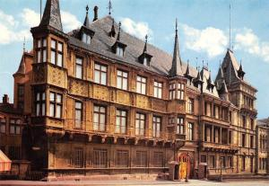 Luxembourg The Grand Ducal Palace Le Palais Grand Ducal