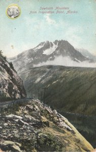 Sawtooth Mountain , Alaska , 1900-10s : From Inspiration Point