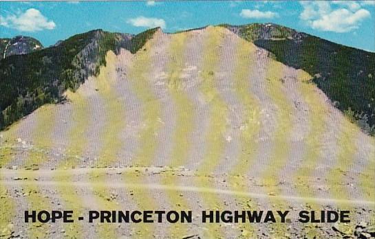 Canada Hope Princeton Highway Slide Hope British Columbia