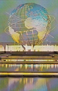 Unisper Night Scene New York Worlds Fair 1964 1965