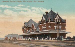 PORT ARTHUR , Ontario , Canada , 00-10s; Canadian Northern Depot