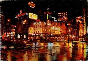 Amsterdam Netherlands Coca Cola Heineken City Theatre Hoppe c1964 Postcard C4