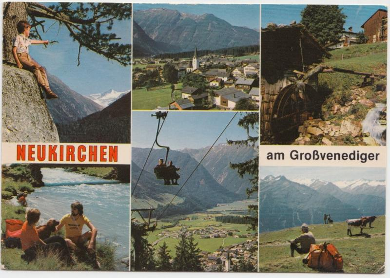 NEUKIRCHEN, am Grossvenediger, Austria, 1986 used Postcard