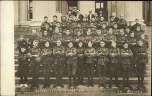 Washington DC Columbia Park Boys Club US Treasury Bldg Real Photo Postcard
