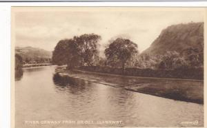 RP; River Conway from Bridge, Llanrwst, Wales, United Kingdom, 10-20s