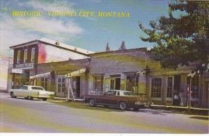 Montana Virginia City Street Scene