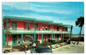 1964 The Chateau Apartments and Motel, Daytona Beach, FL Postcard