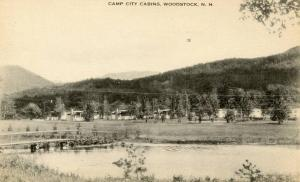NH - Woodstock. Camp City Cabins