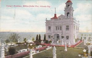 New Jersey Atlantic City Young's Residence Million Dollar Pier 1909