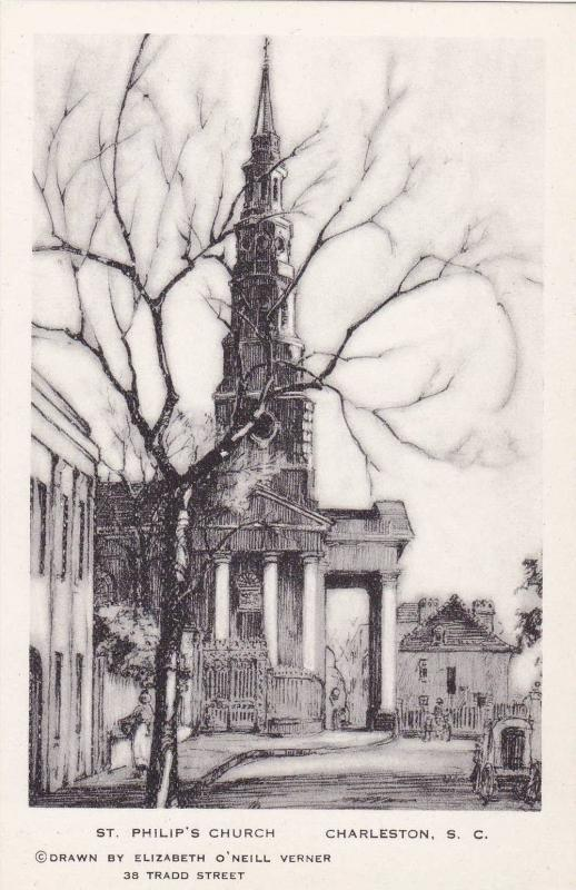 Charleston , South Carolina, 30-40s; Elizabeth O´Neill Verner; St Philip's C...
