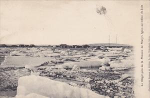 Missions, Le Degel Pres De La Mission De Mary's Igloo Au Milieu De Juin, 1900...