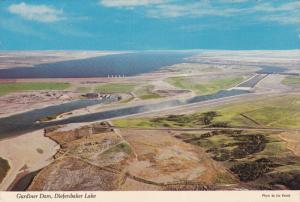 Aerial View, Gardiner Dam, Diefenbaker Lake, GARDINER DAM, Saskatchewan, Cana...