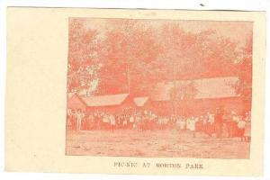Pic-Nic at Morton Park , Ontario, Canada , 190...