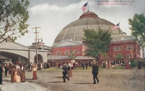 SPRINGFIELD , Illinois, 1900-10s ; Dome Building , State Fair Grounds