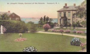 Rhode Island Newport St Josephs House Convent Of The Cenacle Handcolored Albe...