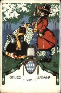 Germany - Gruss Vom Salvator - Otto Ober Meier c1910 Postcard