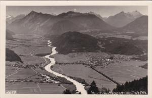 RP, Aerial View, Blick Von MOSERN Ins INNTAL, Austria, PU-1950