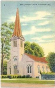 Episcopal church, Centerville, Maryland 30-40s