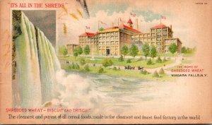 New York Niagara Falls The Home Of Shredded Wheat  1908