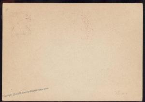 3rd Reich Germany 1938 Turnfest Breslau Gymnastics Propaganda Card 91399