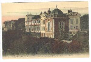 Le Pavillon Henri-IV Pris De l'Ascenseur, Saint-Germain-En-Laye (Yvelines), F...