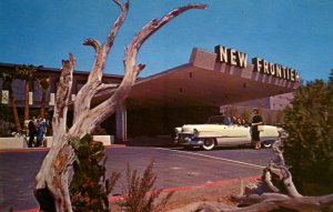 Las Vegas, Nevada - The New Frontier Hotel - in the 1950s