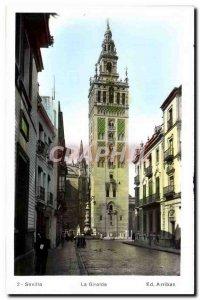 Old Postcard Sevilla La Giralda