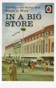 In A Big Store Department London Ladybird 1st Edition Book Postcard