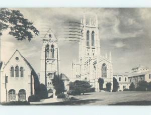 1971 CHURCH SCENE Bryn Athyn Pennsylvania PA L5739