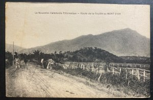 Mint New Caledonia RPPC Real Picture Postcard Coulee Route To Gold Mont