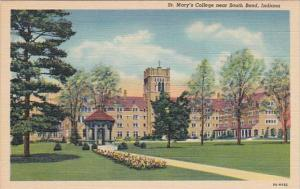 Indiana South Bend St Mary's College Curteich