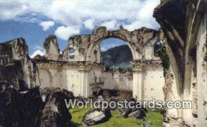La Recoleccion Church Antigua Guatemala Guatemala, Central America Unused
