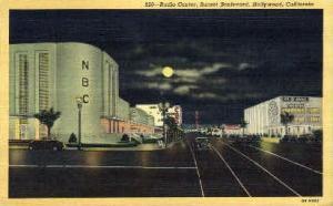 Radio Center, Sunset Boulevard