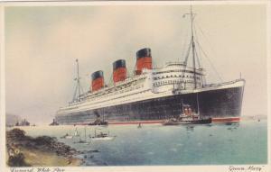 Cunard White Star Ocean Liner Queen Mary , 30-40s
