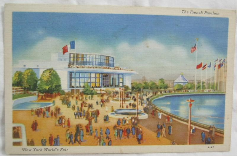 The French Pavilion 1939 New York Worlds Fair