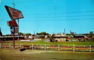 Arizona Phoenix Lazy Daze Mobile Home Park and Motel 1963