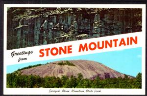 Greetings From Stone Mountain,GA