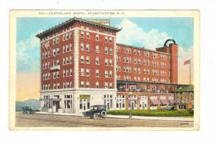 Cleveland Hotel, Spartanburg, South Carolina, PU-00-10s