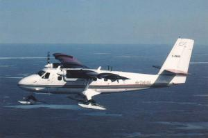 AIR TINDI Twin Otter Airplane , Yellowknife , N.W.T. , Canada , 70-80s Commer...