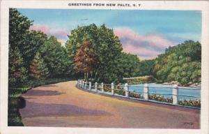 New York Greetings From New Paltz 1939