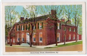 Brown Pusey House, Elizabethtown KY