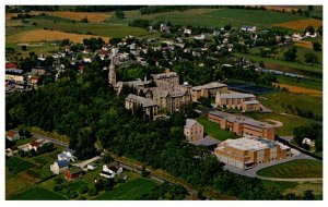 Wisconsin Mount Calvary St Lawrence Seminary , Aerial View