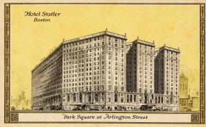 MA - Boston. Hotel Statler