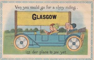 Montana Glasgow Ven You Vould Go For A Choy Riding Pennant Series